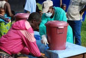In Ebola-Gebieten muss auf Hygiene größten Wert gelegt werden. Foto: Klemens Ochel