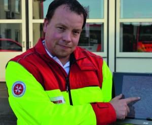 Manfred Emmerling als Johanniter-Auslandshelfer ist für die Logistik zuständig. Foto: Pat Christ