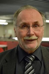 Der ehemalige Professor am Institut für Deutsche Philologie Dr. Dr. h.c. mult. Norbert Richard Wolf pflegt durch zahlreiche Projekte einen Unruhestand, da ihn die Leidenschaft für Sprache einfach nicht loslässt. Foto: Pat Christ