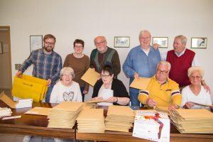 Aktivbüro und Seniorenvertretung packen für den Gesundheitstag mit an und ein. Foto: Aktivbüro