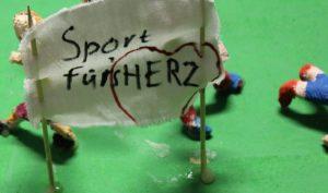 """""""Sport für's Herz"""" lautet das Motto der Klasse 2a der Goethe-Kepler-Grundschule. Foto: DZHI"""