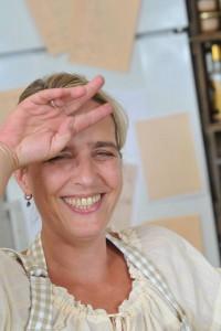 """Doris Betz-David, Chefin der """"Weiberwirtschaft"""" Foto: ©Schmelz-Fotodesign"""