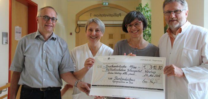Palliativstationen freuen sich über Konzert-Erlös