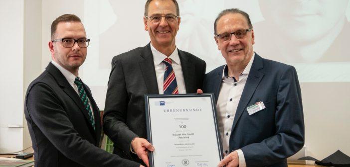 """Kräuter Mix feiert 100. Geburtstag: """"In Franken verwurzelt, in der Welt unterwegs"""""""