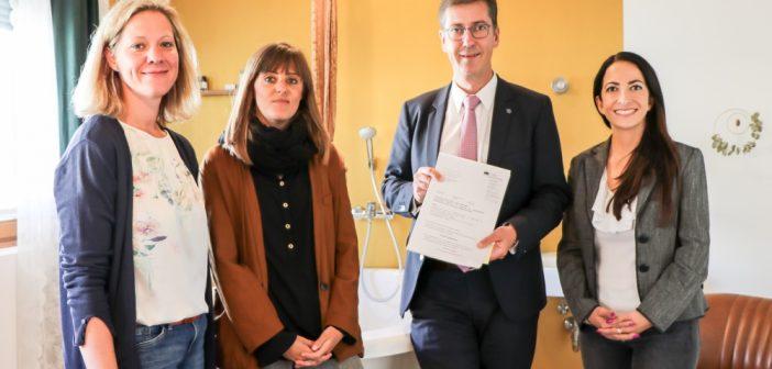 Uniklinikum, Klinikum Würzburg Mitte und Maingeburtshaus erhalten Unterstützung zur Förderung der Geburtshilfe