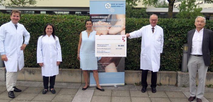 Hilfe im Kampf gegen Krebs e.V. fördert hochpräzise Tumordiagnostik für Myelom-Patienten am Uniklinikum Würzburg