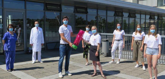 Bundesweiter Blutspende-Wettbewerb: Würzburger Medizinstudierende auf Platz 1